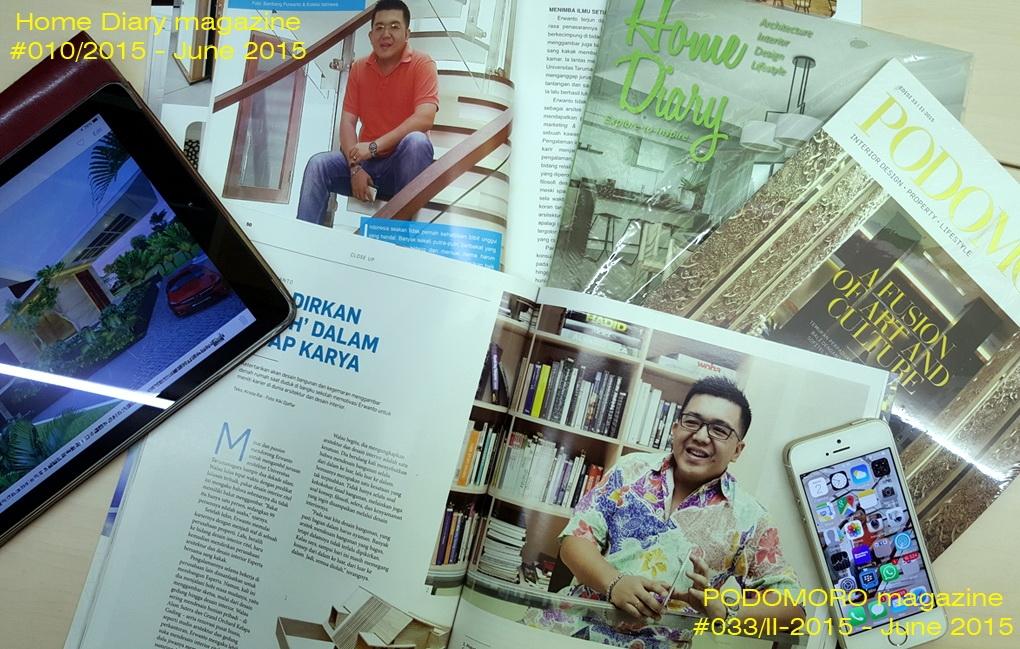 Publish on magazine June 2015