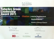 Futurarc Green  Leadership Award 2011